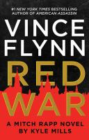 Cover image for Red war. bk. 17 [large print] : Mitch Rapp series