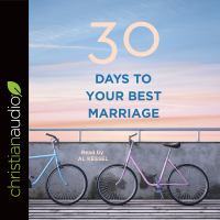 Cover image for 30 days to your best marriage