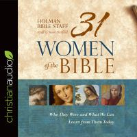 Cover image for 31 women of the Bible who they were and what we can learn from them today