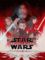 Cover image for Star Wars : the last Jedi [graphic novel]