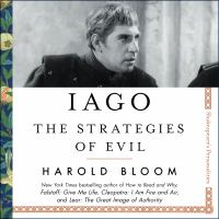 Cover image for Iago the strategies of evil