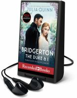 Imagen de portada para The Duke and I. bk. 1 [Playaway] : Bridgerton series