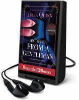 Imagen de portada para An offer from a gentleman. bk. 3 [Playaway] : Bridgerton series