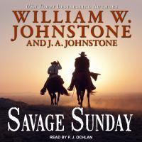 Imagen de portada para Savage sunday Duff maccallister western series, book 11.