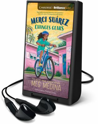 Cover image for Merci Suarez changes gears [Playaway]