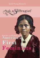 Cover image for Stories and widsom from America's first feminists