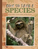 Cover image for How to save a species