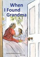 Cover image for When I found grandma