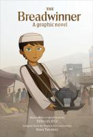 Cover image for The breadwinner [graphic novel]