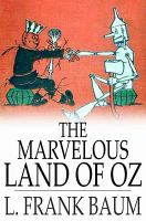 Cover image for The marvelous land of Oz