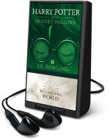 Imagen de portada para Harry Potter and the deathly hallows. bk. 7 [Playaway] : Harry Potter series