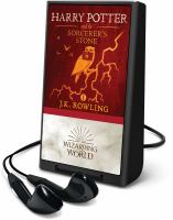 Cover image for Harry Potter and the sorcerer's stone. bk. 1 [Playaway] : Harry Potter series / J. K. Rowling.