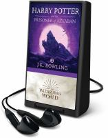 Imagen de portada para Harry Potter and the prisoner of Azkaban. bk. 3 [Playaway] : Harry Potter series