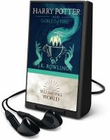 Cover image for Harry Potter and the goblet of fire. bk. 4 [Playaway] : Harry Potter series