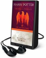 Cover image for Harry Potter and the order of the phoenix. bk. 5 [Playaway] : Harry Potter series