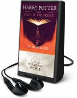 Imagen de portada para Harry Potter and the half-blood prince. bk. 6 [Playaway] : Harry Potter series