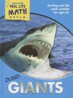 Imagen de portada para Ocean giants : Real life math series