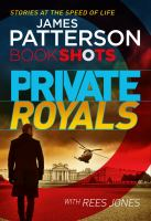 Cover image for Private royals : BookShots series