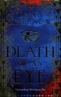 Cover image for Death of an eye. bk. 1 : Eye of Isis mystery series