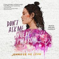 Cover image for Don't ask me where I'm from [sound recording CD]