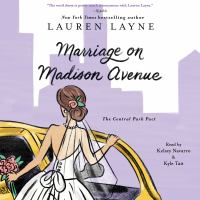 Cover image for Marriage on Madison Avenue Central Park pact
