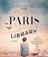 Imagen de portada para The Paris library [sound recording CD] : a novel