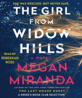 Cover image for The girl from Widow Hills [sound recording CD] : a novel
