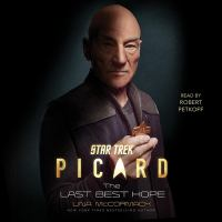 Cover image for Star Trek: Picard: The Last Best Hope
