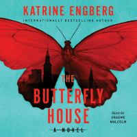 Cover image for The butterfly house. bk. 2 [sound recording CD] : Korner and Werner series