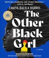 Imagen de portada para The other black girl [sound recording CD] : a novel