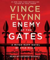 Cover image for Enemy at the gates. bk. 20 [sound recording CD] : Mitch Rapp series