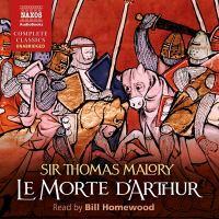 Imagen de portada para The death of Arthur = Le morte d'Arthur [sound recording CD]