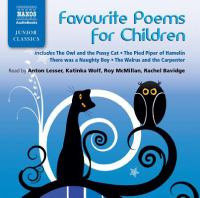 Cover image for Favourite poems for children [sound recording CD] : Junior classics series.