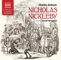 Cover image for Nicholas Nickleby