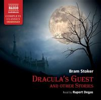 Cover image for Dracula's guest and other stories