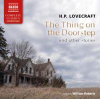 Cover image for The thing on the doorstep and other stories