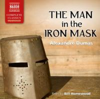 Imagen de portada para The man in the iron mask (narrated by Bill Homewood)
