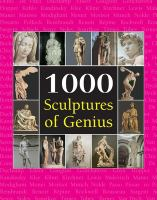 Cover image for 1000 sculptures of genius