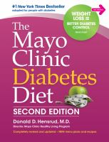 Cover image for The Mayo clinic diabetes diet