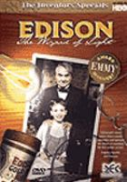 Cover image for Edison the wizard of light