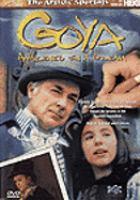 Cover image for Goya awakened in a dream