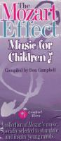 Cover image for The Mozart effect music for children
