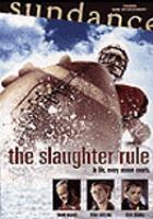 Imagen de portada para The slaughter rule