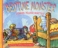 Cover image for Bedtime monster