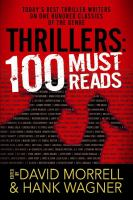Cover image for Thrillers : 100 must-reads