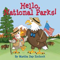 Cover image for Hello, national parks! [board book]