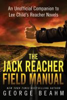 Cover image for The Jack Reacher field manual : an unofficial companion to Lee Child's Reacher novels