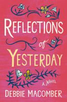 Cover image for Reflections of yesterday