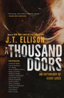 Cover image for A thousand doors : an anthology of many lives