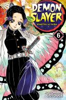 Cover image for Demon slayer. Vol. 06 [graphic novel] : The demon slayer corps gathers